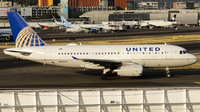 A picture of N808UA - Airbus A319131 - United Airlines - © Mauri_0307