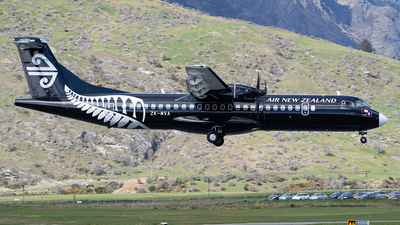 ZK-MVA - ATR 72-212A(600) - Air New Zealand Link (Mount Cook Airline)