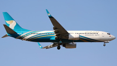 A4O-BM - Boeing 737-8FZ - Oman Air