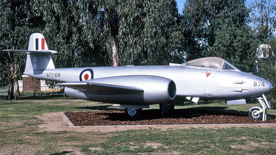A77-874 - Gloster Meteor F.8 - Australia - Royal Australian Air Force (RAAF)