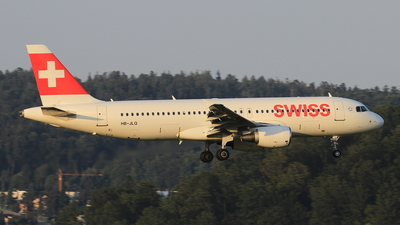 A picture of HBJLQ - Airbus A320214 - Swiss - © Christoph Plank