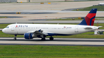 N333NW - Airbus A320-211 - Delta Air Lines