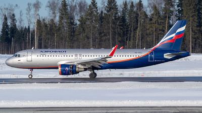 VQ-BSJ - Airbus A320-214 - Aeroflot