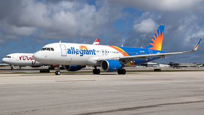 N247NV - Airbus A320-214 - Allegiant Air