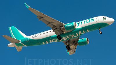 VP-CXJ - Airbus A320-214 - Nas Air