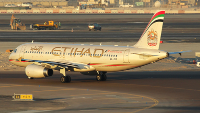 A6-EIP - Airbus A320-232 - Etihad Airways
