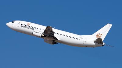 LY-EEL - Boeing 737-46M - GetJet Airlines