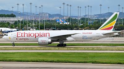 A picture of ETAPU - Boeing 777F6N - Ethiopian Airlines - © Mickey-Mi