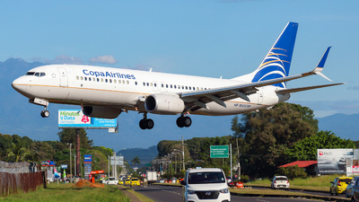 HP-1842CMP - Boeing 737-8V3 - Copa Airlines