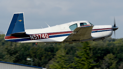 A picture of N51740 - Mooney M20E - [279] - © Romain Salerno / Aeronantes Spotters