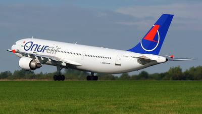 TC-OAA - Airbus A300B4-605R - Onur Air