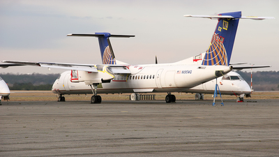N195WQ - Bombardier Dash 8-Q402 - United Express (Republic Airlines)