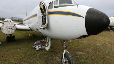 N888DG - Douglas C-118A Liftmaster - Everts Air Cargo