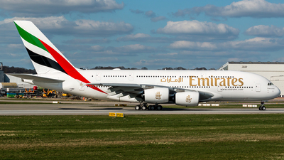 F-WWSF - Airbus A380-842 - Emirates