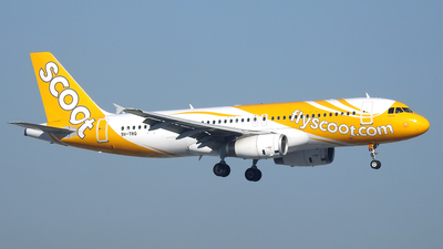 9V-TRQ - Airbus A320-232 - Scoot