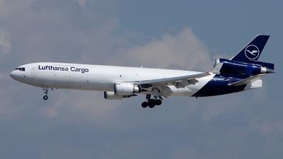 A picture of DALCC - McDonnell Douglas MD11F - Lufthansa Cargo - © Christian  Duda