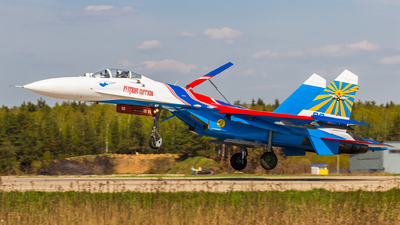 03 - Sukhoi Su-27 Flanker - Russia - Air Force
