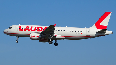 A picture of 9HLOS - Airbus A320214 - Lauda Europe - © Bjarne Doormann