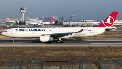 TC-JNN - Airbus A330-343 - Turkish Airlines