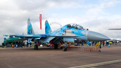 71 - Sukhoi Su-27UB Flanker C - Ukraine - Air Force
