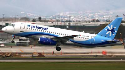 A picture of XAIJR - Sukhoi Superjet 10095B - Interjet - © Jose Antonio Lopez