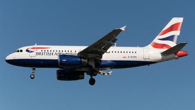 G-EUPH - Airbus A319-131 - British Airways
