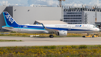 A picture of DAVZV - Airbus A321 - Airbus - © Boscgnspotter