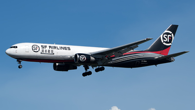 A picture of B1589 - Boeing 767338(ER)(BCF) - SF Airlines - © Andrew Hunt