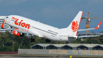 A picture of HSLUV - Boeing 7378GP - Thai Lion Air - © SOMPOL JUNLAMART