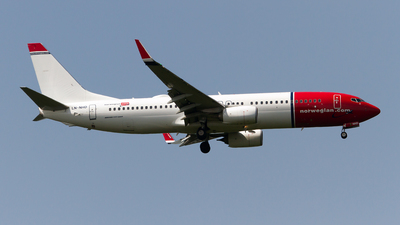 LN-NHD - Boeing 737-8JP - Norwegian