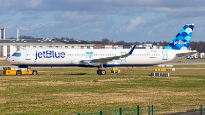 D-AZAF - Airbus A321-271NX - jetBlue Airways