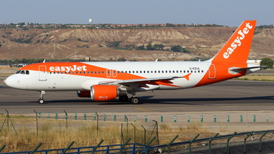 A picture of GEZUS - Airbus A320214 - easyJet - © Marcel Schmidt