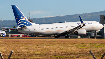 A picture of HP1716CMP - Boeing 7378V3 - Copa Airlines - © Ivan Jimenez Rojas
