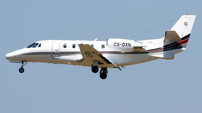 A picture of CSDXN - Cessna 560XL Citation XLS - NetJets - © Javier Rodriguez - Amics de Son Sant Joan