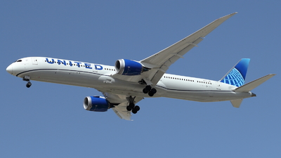 A picture of N12012 - Boeing 78710 Dreamliner - United Airlines - © ikeharel