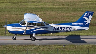 N452ER - Cessna 172S Skyhawk SP - Embry-Riddle Aeronautical University (ERAU)
