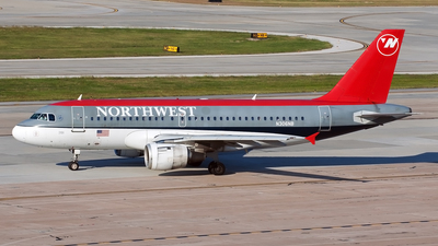N306NB - Airbus A319-114 - Northwest Airlines