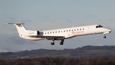 A picture of GRJXH - Embraer ERJ145EP - Loganair - © Rolf Jonsen