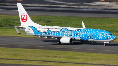 JA05RK - Boeing 737-800 - Japan TransOcean Air (JTA)