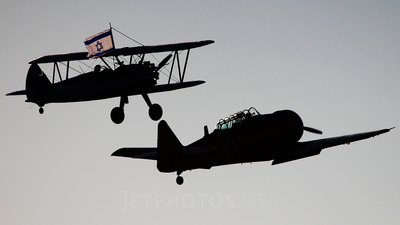 001 - North American T-6 Harvard - Israel - Air Force