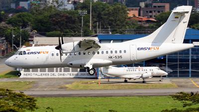 A picture of HK5315 - ATR 42600 - EasyFly - © La Roche Spotters