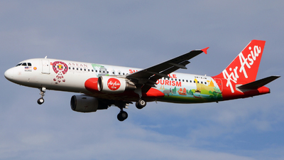 9M-AJW - Airbus A320-216 - AirAsia