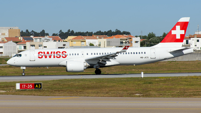 A picture of HBJCS - Airbus A220300 - Swiss - © Rui Marques
