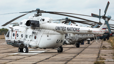 RF-95550 - Mil Mi-8MTV Hip - United Nations (UN)
