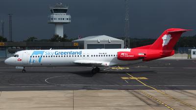 PH-MJP - Fokker 100 - Sky Greenland