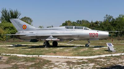 1120 - Mikoyan-Gurevich MiG-21U Mongol A - Romania - Air Force