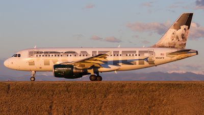 N924FR - Airbus A319-111 - Frontier Airlines