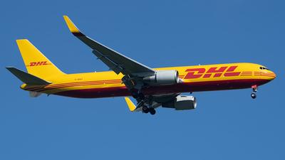 A picture of GDHLF - Boeing 7673JHF(ER) - DHL - © Andrew Hunt