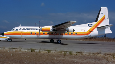 CC-CIS - Fokker F27-500F Friendship - Ladeco