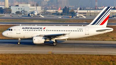 F-GRXK - Airbus A319-115(LR) - Air France
